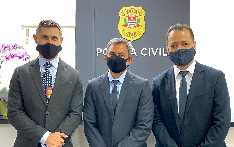 Delegados Sebastião, Elton e Hermes